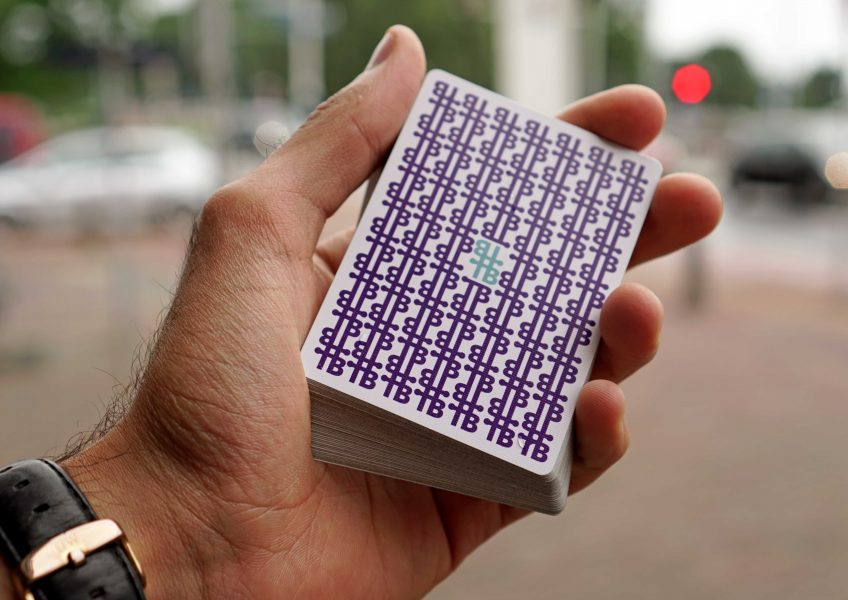 Signature playing cards